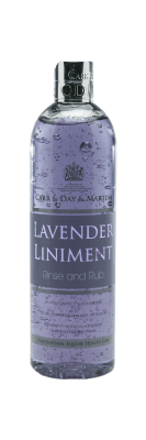 Lavender Liniment Rinse and Rub